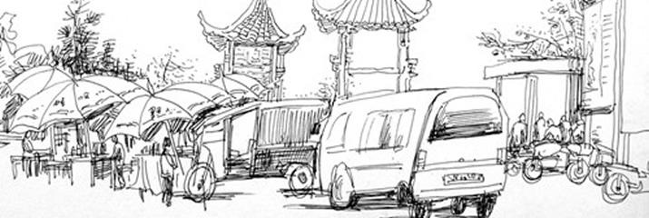 2011魏兴无速写网展
