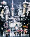 上海街头 145×180cm  2006年