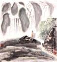 东坡观瀑图