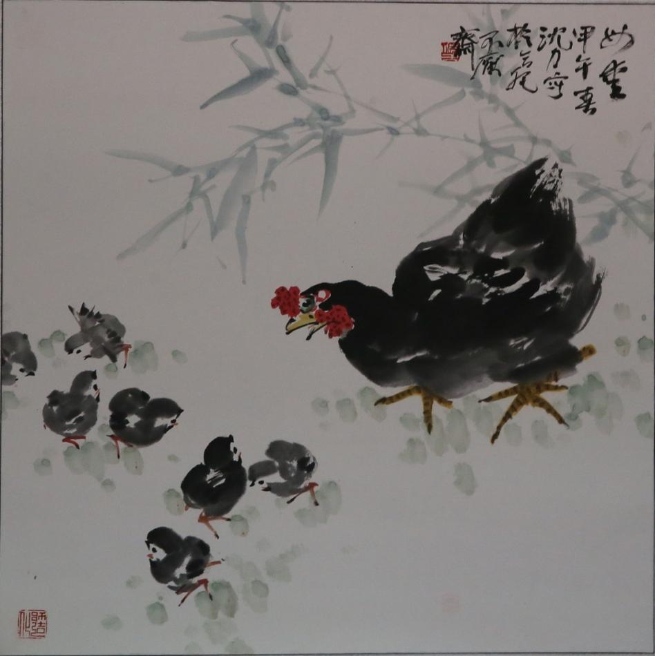 红动五月--新徽派书画名家作品爱心拍卖作品展示
